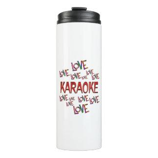 Love Love Karaoke Thermal Tumbler