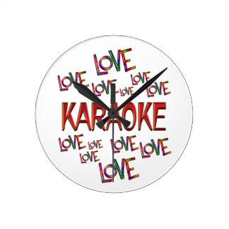 Love Love Karaoke Wallclock