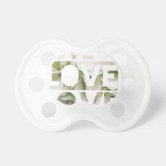 Love Love Love Baby Pacifier