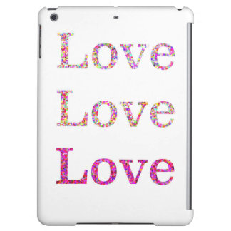 Love Love Love iPad Air Covers