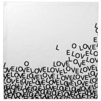 love love love napkin