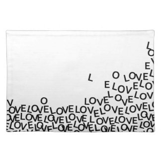 love love love placemat