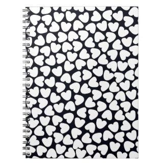 Love Love Love Spiral Note Books