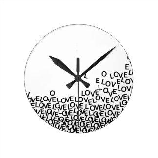 love love love wallclock