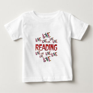 Love Love Reading Baby T-Shirt