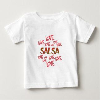 Love Love Salsa Baby T-Shirt