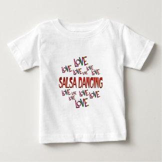 Love Love Salsa Dancing Baby T-Shirt