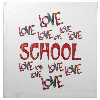 Love Love School Napkin
