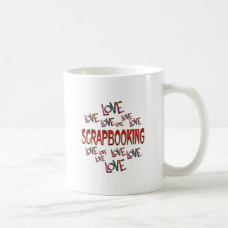 Love Love Scrapbooking Coffee Mug