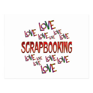 Love Love Scrapbooking Postcard