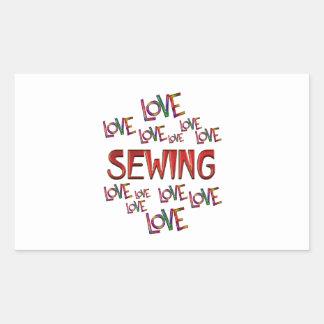Love Love Sewing Sticker