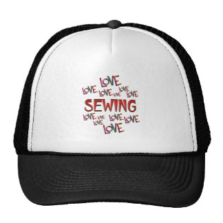 Love Love Sewing Trucker Hat
