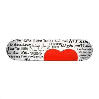 Love Love Skateboard Deck
