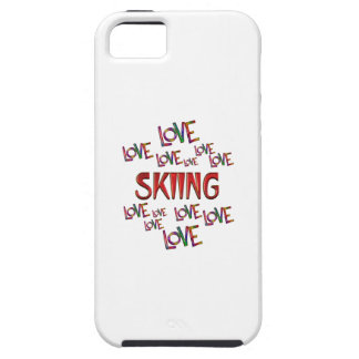 Love Love Skiing iPhone 5 Covers