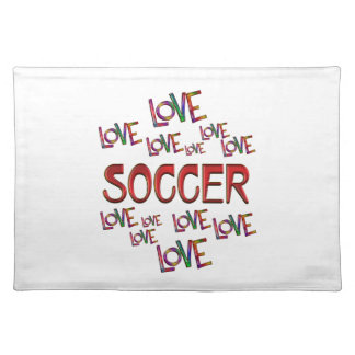 Love Love Soccer Placemat