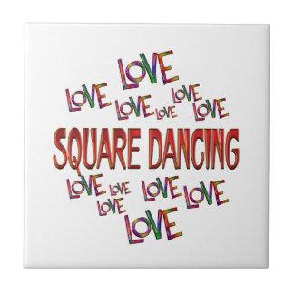 Love Love Square Dancing Tile