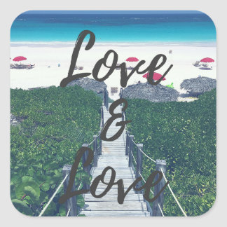 Love & Love Sticker