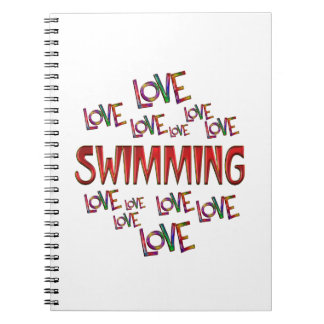 Love Love Swimming Notebook