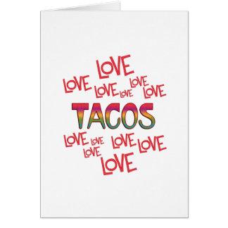 Love Love Tacos Card