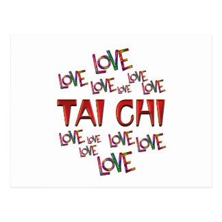 Love Love Tai Chi Postcard