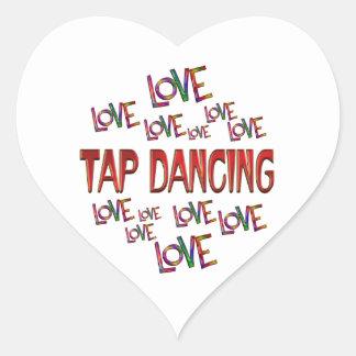 Love Love Tap Heart Sticker