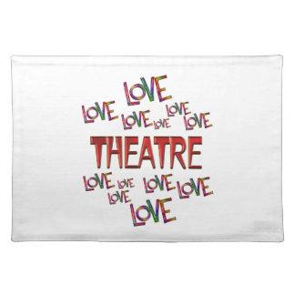 Love Love Theatre Placemat