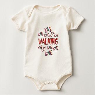 Love Love Walking Baby Bodysuit