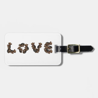 Love Luggage Tag