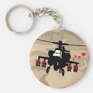 Love Machine Attack Chopper Basic Round Button Keychain