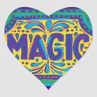 Love Magic Heart Sticker