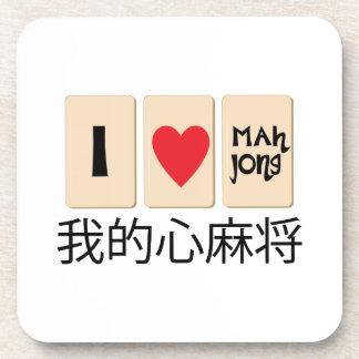 Love Mah Jong Coaster