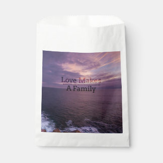 Love Makes a Family Adoption - Foster Care Favour Bag