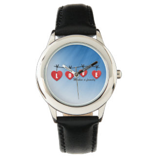 Love Makes a Family - Hearts Watch