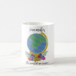 Love Makes the World Go Round Coffee Mug