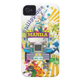 Love Manila, Philippines Case-Mate iPhone 4 Cases