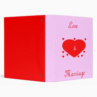 Love Marriage Binders