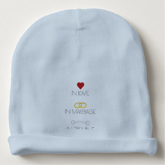 Love Marriage Trouble Zb756 Baby Beanie