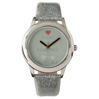 Love Marriage Trouble Zb756 Wrist Watches