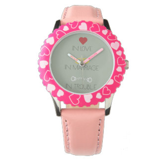 Love Marriage Trouble Zb756 Wristwatches