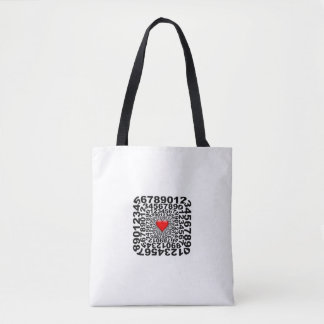 Love Math Tote Bag