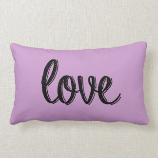 Love Mauve Pillow