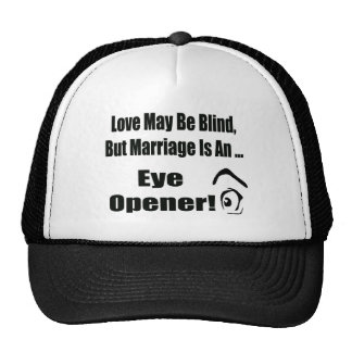 Love May Be Blind T-shirts Gifts Mesh Hats