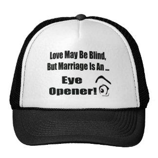 Love May Be Blind T-shirts Gifts Mesh Hats