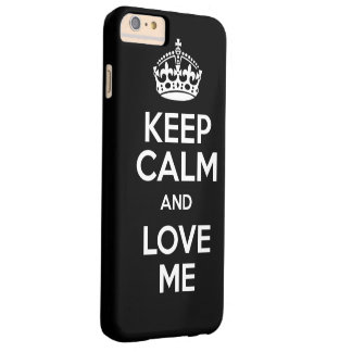 love me barely there iPhone 6 plus case