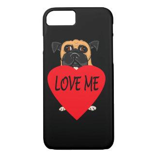"""Love Me"" dog custom phone cases"
