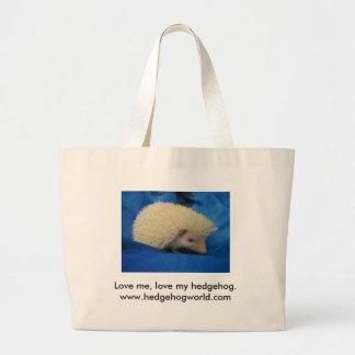 Love me hedgehog bag