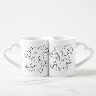 Love me-hold me-kiss me-spoil me Lovers Mug