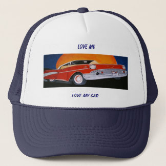LOVE ME LOVE MY CAR ball cap
