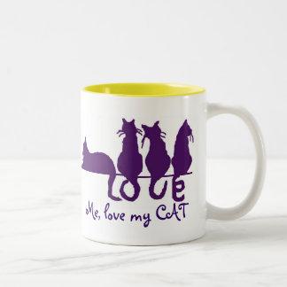 Love me, love my cat 15oz Mug
