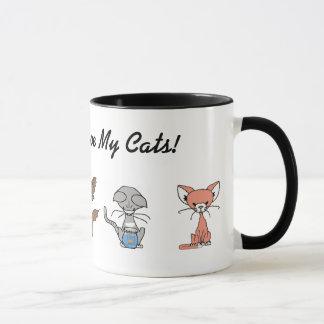 Love Me, Love My Cats Coffee Mug
